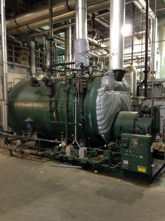 Johnston Boiler, 200 HP